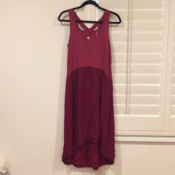 9a64584454e9 Anthropologie Dresses | Left Of Center Highlow Dress Sz Sm | Poshmark